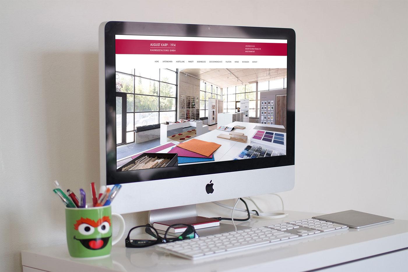 webdesign f r frankfurt referenz august karp. Black Bedroom Furniture Sets. Home Design Ideas