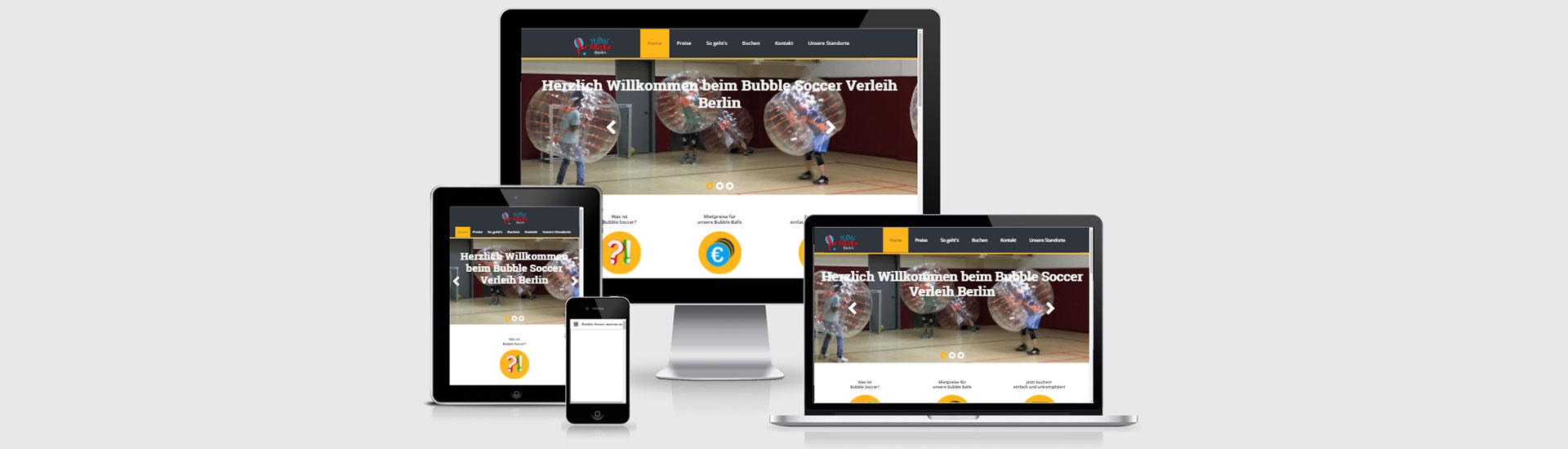 webdesign huenfelden bubble soccer header01